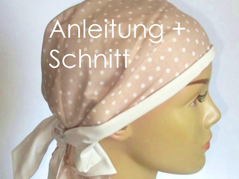 Schnitt und Anleitung Wende-Piratentuch Freizeit und Chemotherapie ...