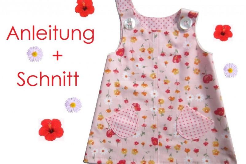 Schnitt und Nähanleitung Kinderlkleid  Hängerchen