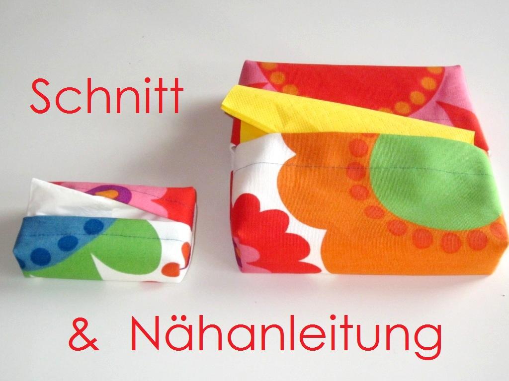 Schnitt und Anleitung Servietten-Box und Taschentücher-Box - Lunicum
