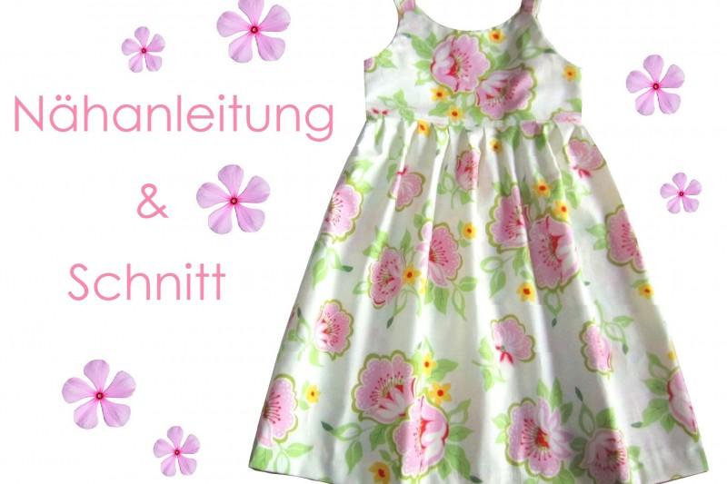 Schnitt und Nähanleitung Kleid Lilly