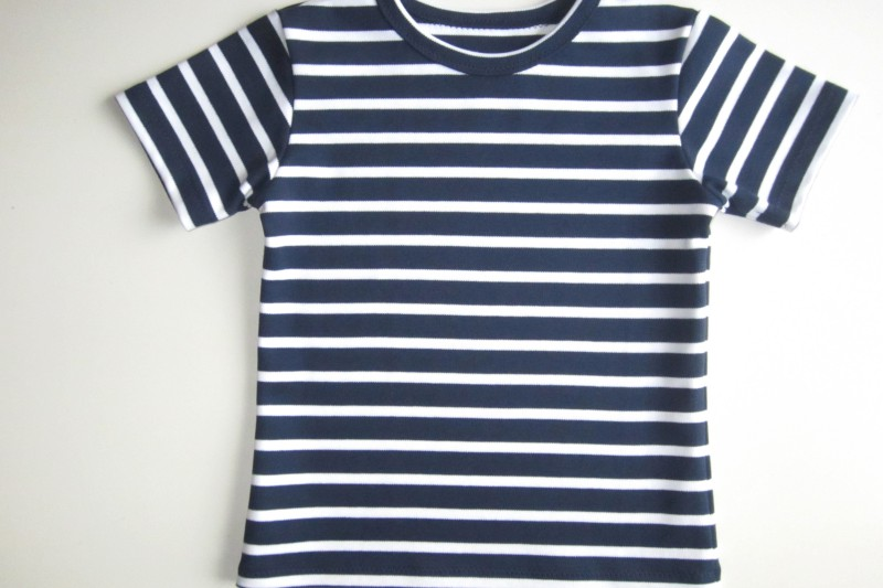 Kinder T-Shirt selbst nähen