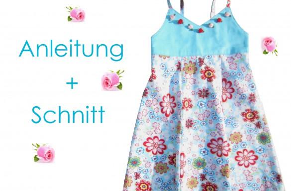 Schnitt und Nähanleitung Kleid Nele