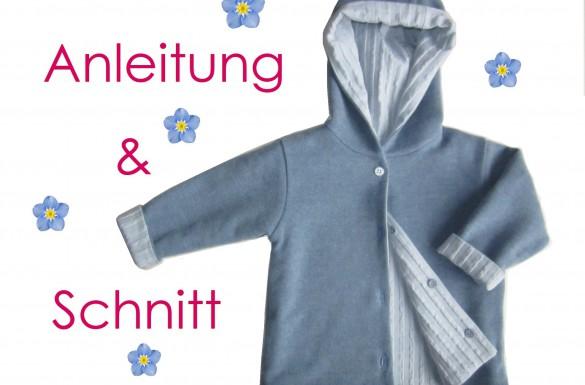 Schnitt und Anleitung Wendejacke
