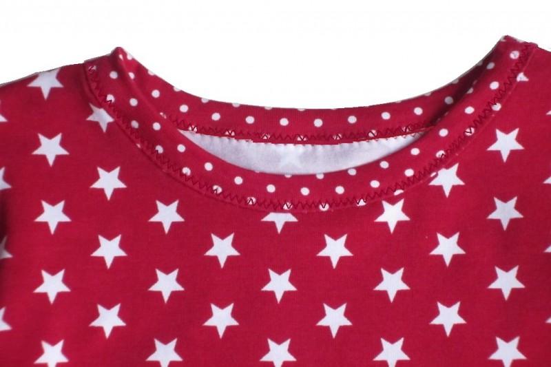 Nähanleitung Kinder Jerseykleid Auszug