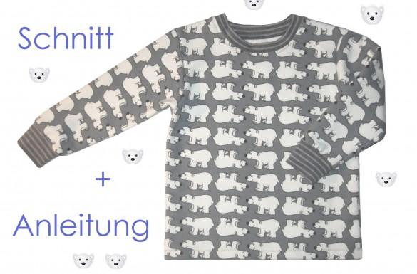 Schnitt und Anleitung Kinder-Pullover
