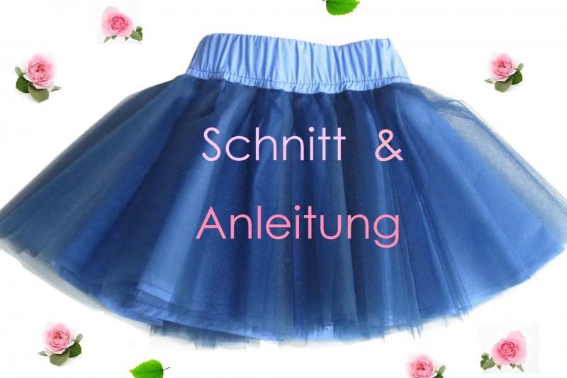 News Lunicum Schnittmuster Kinder Tüllrock