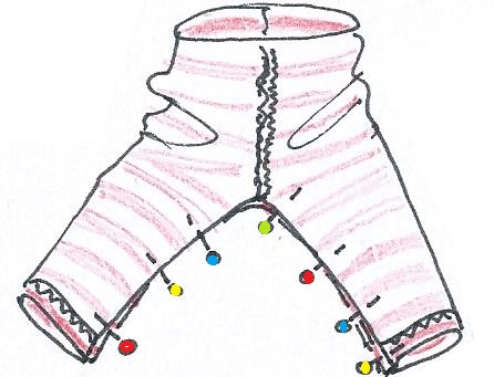 Nähanleitung Leggings Auszug