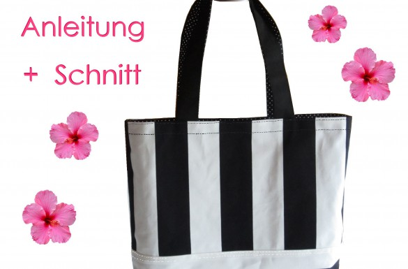 Schnitt und Anleitung Shopper