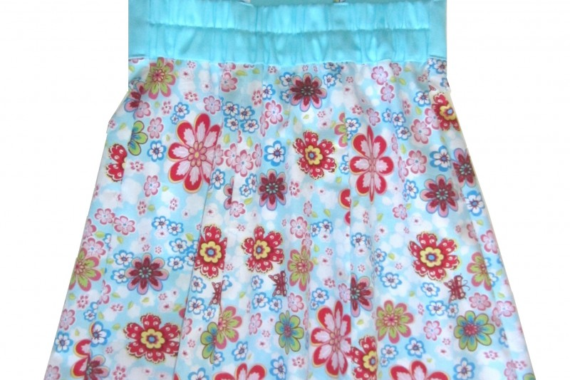 Rückseite Kleid Nele