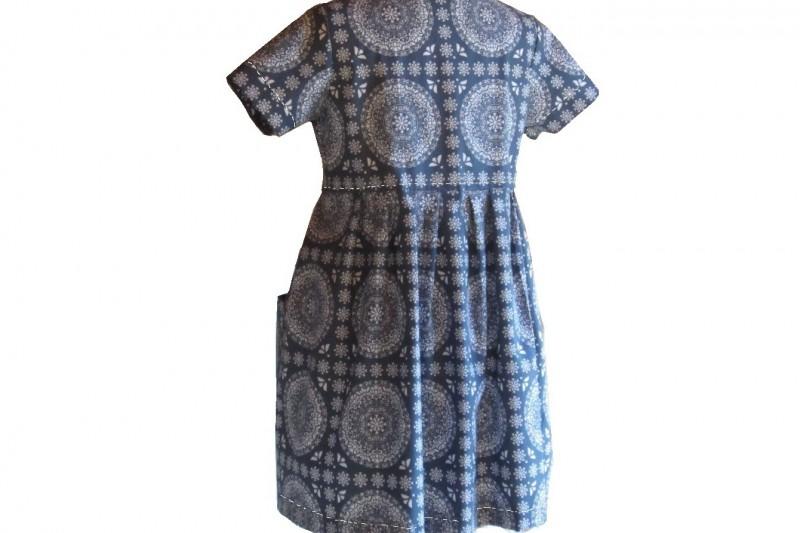 Kleid Mia Rückenansicht