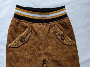 Schnittmuster Hose mit Taschen